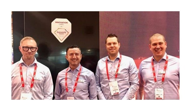 Dafo Vehicle Fire Protection Chosen As Innovation Label Winner At Busworld Europe 2019