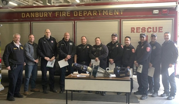 Danbury Firefighters Awarded Green Cross By Hurst For Their Life-Saving Rescue Work