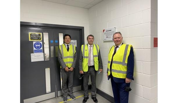 Dartford MP, Gareth Johnson Inaugurates Kentec Electronics' New Factory Extension