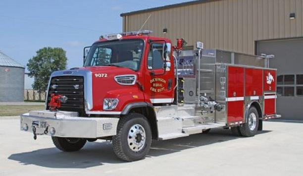 Dickinson Rural Fire Department Receives Fifth Toyne Apparatus