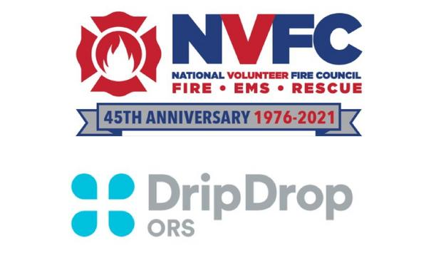 DripDrop ORS And National Volunteer Fire Council Partner To Provide Oral Rehydration Solution (ORS) To Volunteer US Fire Departments