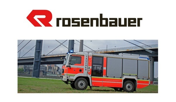 Dusseldorf Fire Department's Rosenbauer AT Series Water Rescue Truck Is An Efficient Fire Safety Vehicle