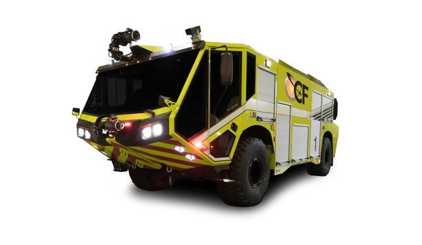 E-ONE Introduces The New Titan 4x4 Aircraft Rescue And Firefighting Vehicle