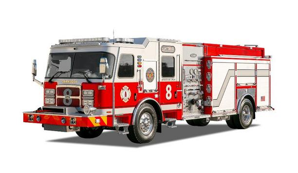 E-One Delivers Four Pumpers With New Cyclone Cab To Sarasota County Fire Department