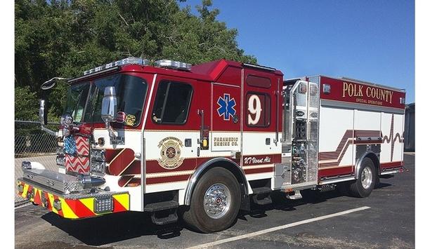 E-ONE Provides Seven Custom EMAX Rescue Pumpers To Polk County Fire Rescue