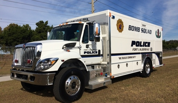 E-ONE Provides Explosive Ordnance Disposal (EOD) Vehicle To The Fort Lauderdale Police Department