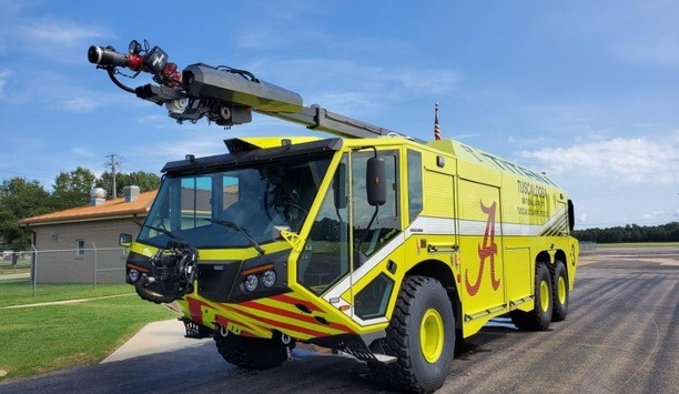 E-ONE Delivers Latest TITAN 6X6 ARFF To Tuscaloosa National Airport In Alabama