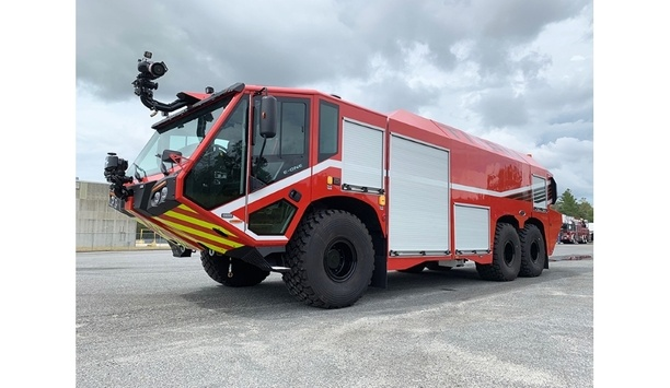 E-ONE Delivers TITAN 6X6 Aircraft Rescue And Firefighting Vehicles To The Civil Aviation Authority