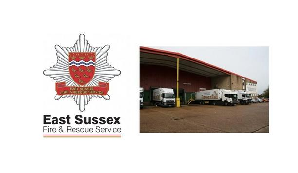 East Sussex Fire And Rescue Service Highlights How An Effective Sprinkler System Saved AF Blakemore And Son's Premises