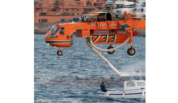 Erickson Renews Fire Contract With Hellenic Republic For 2021