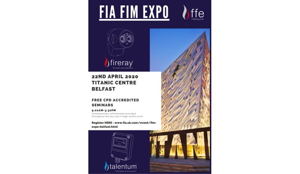 FFE To Showcase Its Extensive Range Of Beam Smoke Detectors And Flame Detectors At FIM Expo 2020