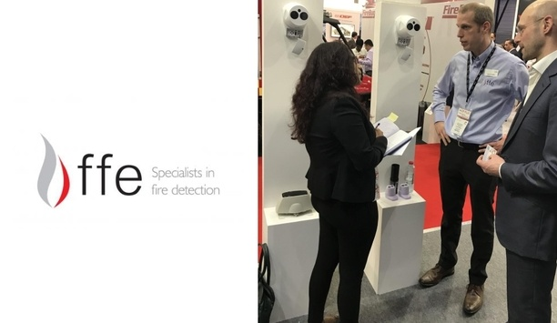 FFE Launches Their Brand New Beam Detector Fireray One At Intersec 2018