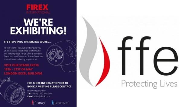 FFE Ltd. To Exhibit Fireray Optical Beam Detectors And Talentum Flame Detectors At Firex International 2020