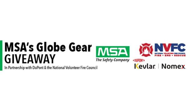 MSA Security Incorporated, NVFC And DuPont's 2020 Globe Gear Giveaway Final Recipients Announced