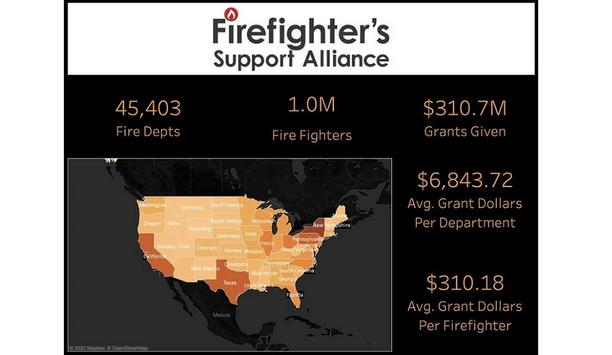 Firefighters Support Alliance Launches An Interactive Map With Economic Impact Of Firefighters