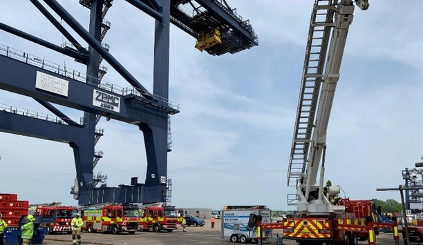 Firetrace Fire Suppression System Extinguishes Fire That Halted Operations At UK's Felixstowe Docks