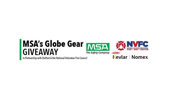 NVFC, MSA Safety And DuPont's 2020 Globe Gear Giveaway Recipients Include Haynesville Volunteer Fire Department And Washington Borough Fire Department