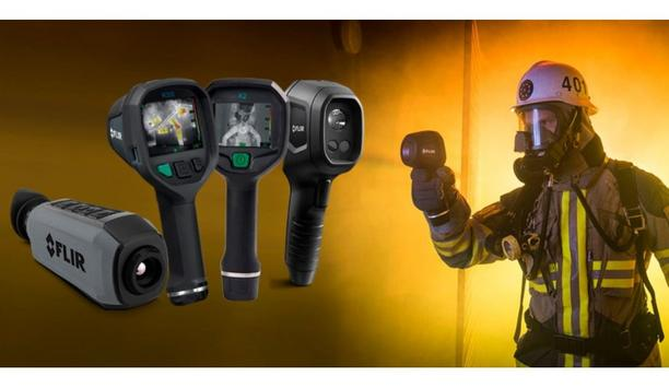 FLIR Announces The Giving Away Of A Comprehensive Set Of Firefighting Thermal Imaging Cameras To Aid Fire Brigade Missions