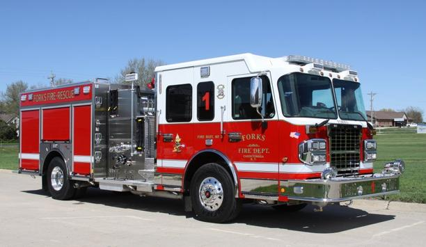 Forks Fire Department Receives Two Toyne Pumpers