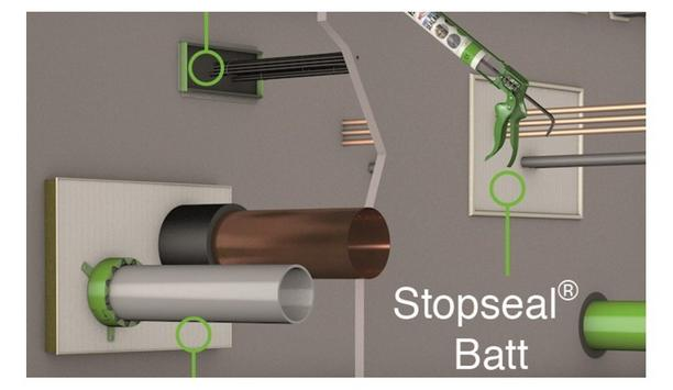 FSi Discusses The Advantages Of Using Stopseal Batt Firestopping Stone Wool Fire Protection System