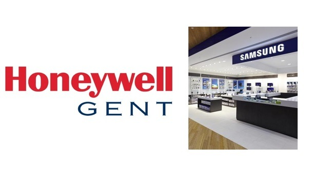 Samsung's Flagship Westfield Store Selects Gent By Honeywell's Fire Detection & Alarm System