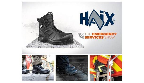 HAIX To Showcase The Latest Innovations In Footwear For All Emergency Service Workers At Emergency Services Show 2021
