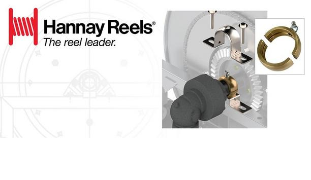 "Hannay Reels Announces Split Bronze Bearing Insert Will Be Part Of All 1-½"" Series Reels"