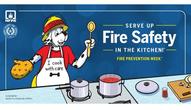 HCFMO Partners With NFPA On 2020 Fire Prevention Week Campaign, Themed - 'Serve Up Fire Safety In The Kitchen!'