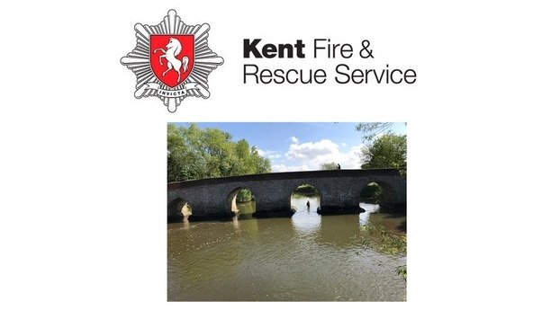 Kent Fire And Rescue Service, In Collaboration With Kent Police, Advices People To Heed To Their Water Safety Appeal During Sustained Heatwave