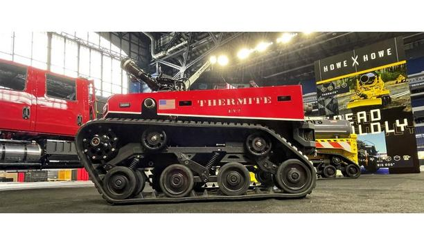 Howe & Howe Inc. Releases Advanced Thermite EV2 All-Electric Firefighting Robot And Hand-Held Controller
