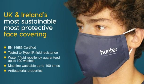 Hunter Launches EN14683 Certified Face Cover With Type IIR Fluid Resistance To Enhance Firefighter Safety
