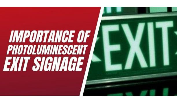 Life Safety Services Discusses The Importance Of Photoluminescent Exit Signage In Building Fire Safety