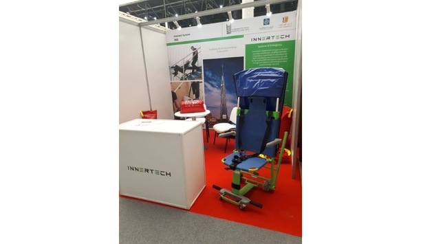 Innertech Showcases Its Evacusafe Chair At Emirates SME 2019
