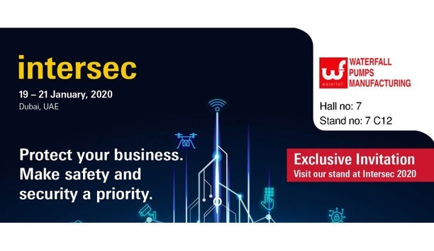 Waterfall Pumps To Participate In Intersec 2020