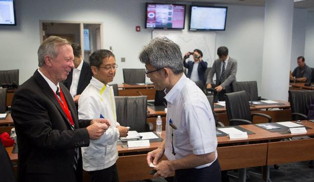 Japanese Delegation Visits Jacksonville's Emergency Preparedness Division To Learn About Response And Recovery To Hurricane Matthew In 2016