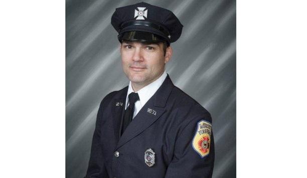 Lieutenant  Jason Menard Recipient Of 2020 Ray Downey Courage And Valor Award
