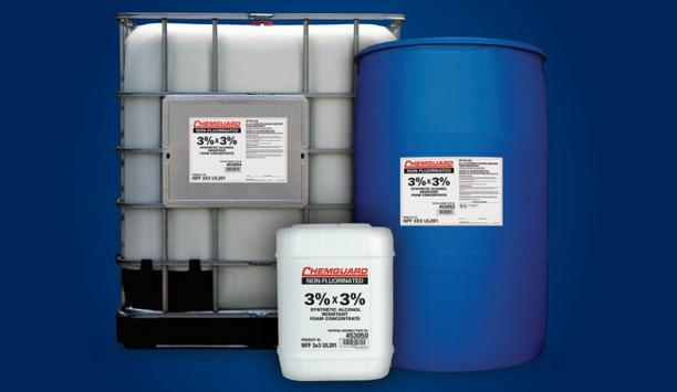 Johnson Controls Unveil Chemguard 3x3 Non-Fluorinated Foam Concentrate For Class B Fuel Fire Suppression