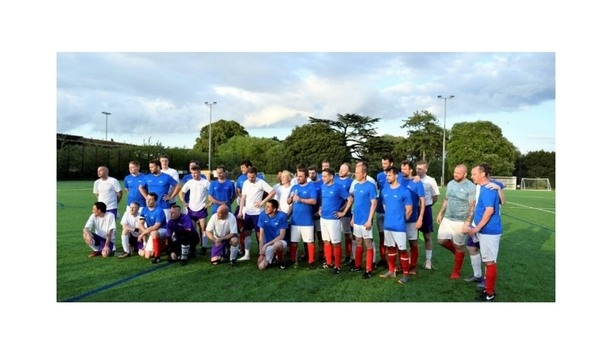 Kentec Electronics And Apollo Fire Host A Successful Football Match To Raise Funds For We Are Beams