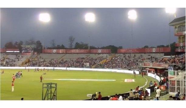 Kentec's Taktis 8 Loop Addressable Fire Panel Secures Mohali International Cricket Stadium In India