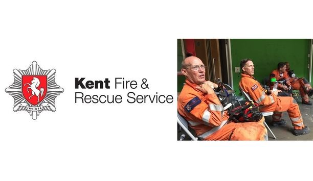 Former Kent Fire And Rescue Service Firefighter Malcolm Cowie Awarded The Queen's Fire Service Medal