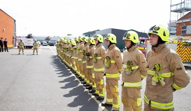 Kent Fire And Rescue Service Trainee Firefighters Start Responding To Emergency Calls Across The County
