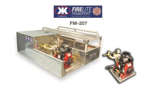 KIMTEK Releases FIRELITE FM-207 And FMH-208 Skid Units With Removable Water Pumps For Remote Forest Fires