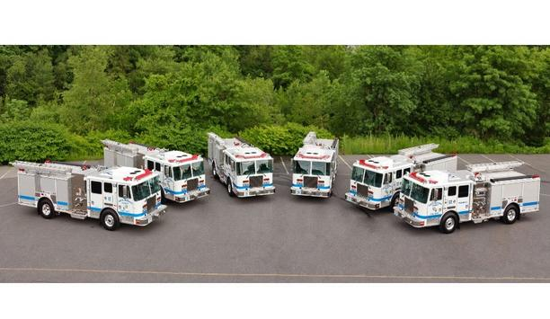 KME Delivers Six Custom Pumpers To Santa Barbara County Fire Department
