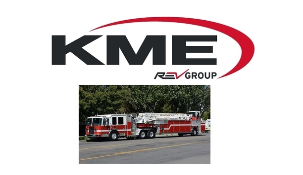 KME Fire Apparatus Announces Delivery Of Ten Custom Pumpers And Seven Tractor-drawn Aerials To OCFA