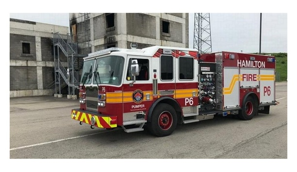 KME Fire Apparatus Delivers 11 Custom Trucks To Hamilton Fire Department In Ontario, Canada