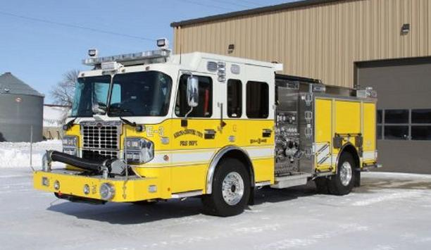 Knox-Center Fire Department Replaces Older Apparatus With A New Toyne Pumper