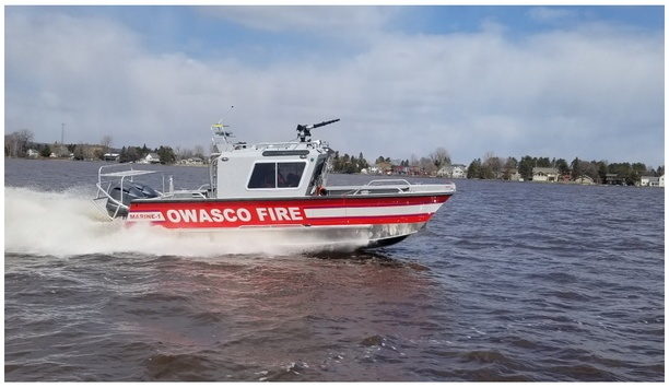 Lake Assault Boats Delivers A 26-Foot Custom Fireboat To Owasco Fire Department In New York State