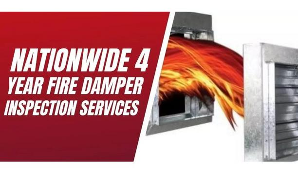Life Safety Services Highlight The Importance Of Fire Dampers And Their Periodic Inspection Services