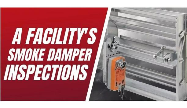 Life Safety Services Explains How Smoke Dampers Works And Effective Ways To Inspect Them