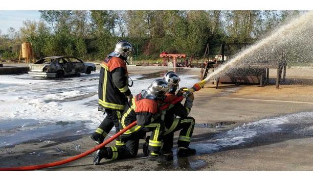 POK Company HQ Witnesses Life-Size Fire Exercise Simulation To Gauge Fire Rescue And Emergency Preparedness